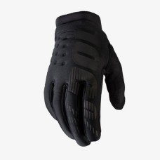 100% gloves Brisker Black