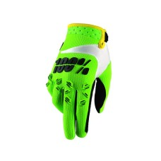 100% kids glove Airmatic Lime Green