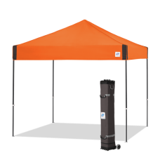 E-Z UP shelter Pyramid Steel Orange